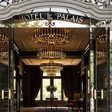 Entrance to Le Palais Art Hotel Prague