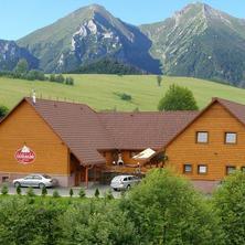 Exteriér Penziónu Tatrakon v lete