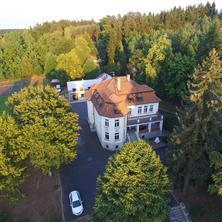 Pohled na vilu Olgu