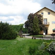 Penzion Vysočina - pohled ze zahrady