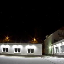 Noční foto penzionu