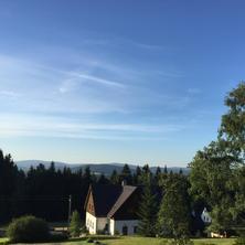 View of Jizerske mountains