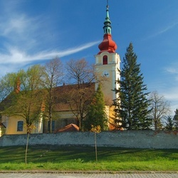 Kostel sv. Václava v Hulíně