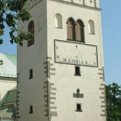 Kostel sv. Jakuba a zvonice v Lipníku nad Bečvou