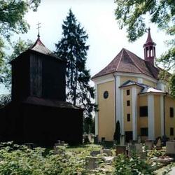 Kostel sv. Michaela Archanděla v Borohrádku