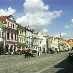 Masarykovo náměstí v Třeboni