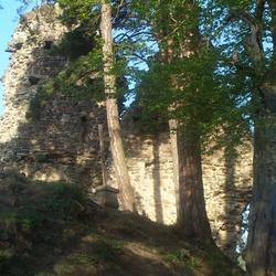 Hrad Zbořený Kostelec