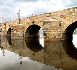 Gotický most v Písku