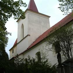 Kostel sv. Vojtěcha Jílové u Prahy