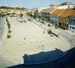 Karlovo náměstí Třebíč