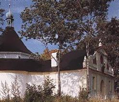 Kaple na Křížové Hoře Český Krumlov