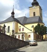 Farní kostel sv. Jana Křtitele Šumperk