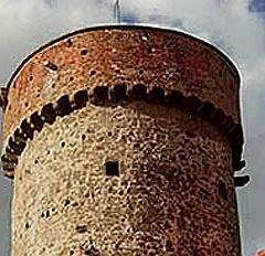 Bechyňská brána a vyhlídková věž Kotnov