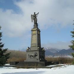 Ruský památník bitvy u Přestanova