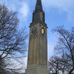 Pruský pomník bitvy u Varvažova
