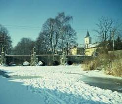 Barokní most přes Radbuzu