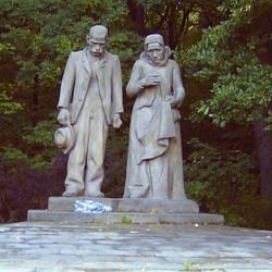 Pomník obětem katastrofy na dole Nelson