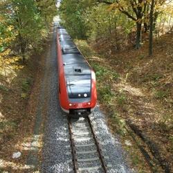 Železniční trať Fukov