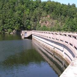 Vodní nádrž Křižanovice - Práčov