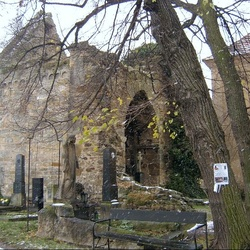 Zřícenina kostela sv. Martina