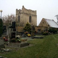 Zřícenina zvonice Vyšehořovice