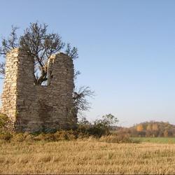 Zřícenina kaple u Bubovic