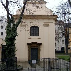 Kostel Povýšení sv. Kříže - Atrium