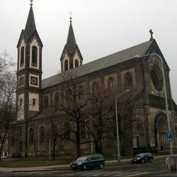 Kostel sv. Cyrila a Metoděje v Praze-Karlíně