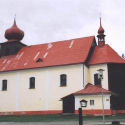 Kostel sv. Petra a Pavla v Malé Úpě