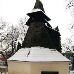 Zvonice kostela Nejsvětější Trojice v Rakovníku