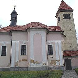 Kostel sv. Petra a Pavla v Praze–Řeporyjích