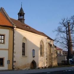 Kostel sv. Ducha v Mostě