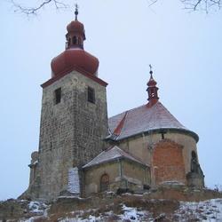 Kostel sv. Vavřince v Černčicích
