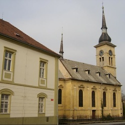 Evangelický kostel v Lounech