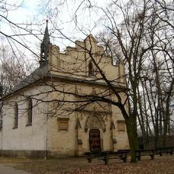 Havířský kostelík v Poděbradech