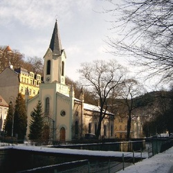 Evangelický kostel sv. Petra a Pavla v Karlových Varech
