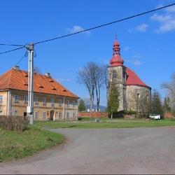 Kostel sv. Michaela ve Vernéřovicích