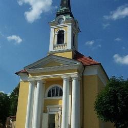 Kostel Povýšení sv. Kříže ve Františkových Lázní