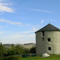 Větrný mlýn u Lichnova