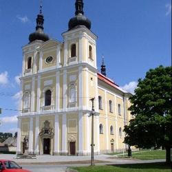 Kostel sv. Jana Křtitele v Bystrém