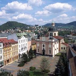 Kostel sv. Kříže v Děčíně