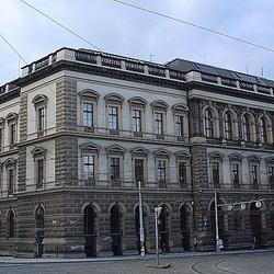 Budova ČVUT na Karlově náměstí