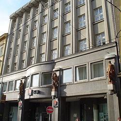 Budova Komerční banky ve Spálené ulici