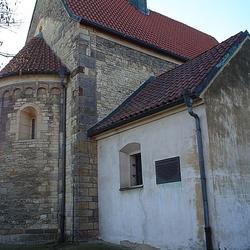 Kostel sv. Jana Křtitele v Dolních Chabrech