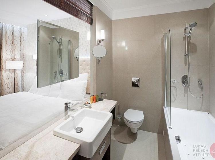 Koupelna s vířivou vanou