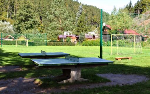 Wellness hotel Bozeňov Bozeňov - stolní tenis a fotbalové hřiště