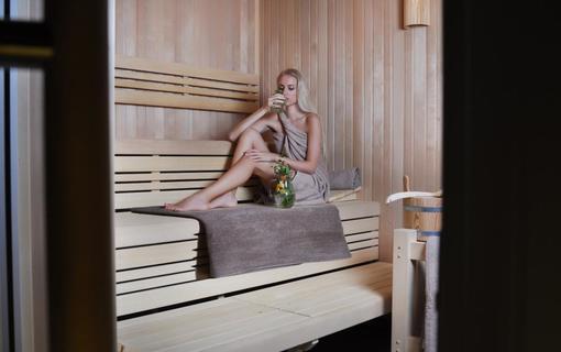Wellness hotel Bozeňov Finská sauna