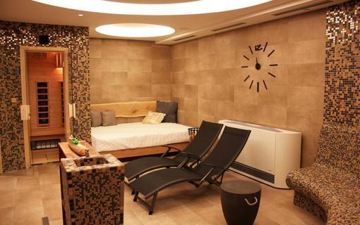 Wellness hotel Helios privátní balneo -relax