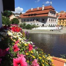 Vyhled z balkonu - Český Krumlov