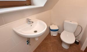 Pension Jizerka toalety